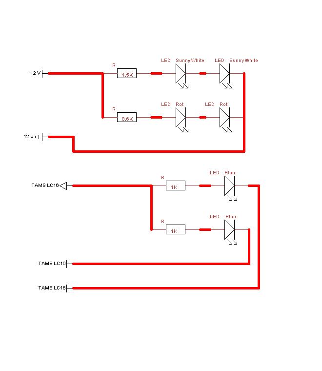 Jörg`s Modellbahn und Modellbau Seite – Standmodell beleuchten